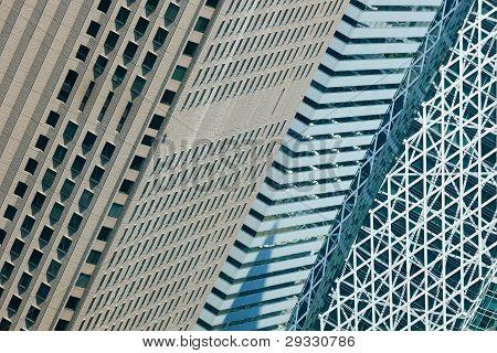 Shinjuku skyscrapers. Tokyo, Japan.