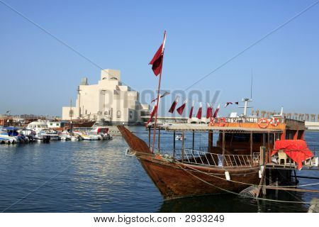 Dressed Dhow And Museum