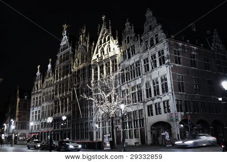 Guild houses on the Grote Markt. Antwrep.