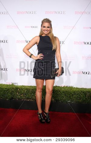 LOS ANGELES - OCT 1:  Tiffany Thornton arrives at the 8th Teen Vogue Young Hollywood Party - Red Carpet at Paramount Studios on October 1, 2010 in Los Angeles, CA