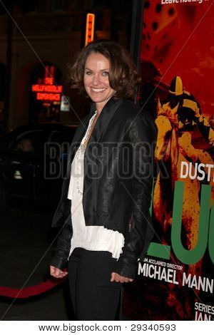 LOS ANGELES - JAN 25:  Amy Brenneman arrives at  the