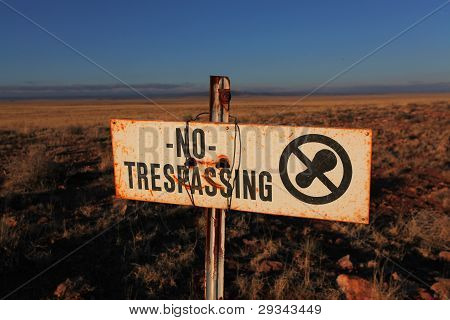 No Trespass