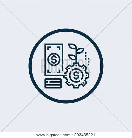 poster of Investment Icon Isolated On White Background. Investment Icon Simple Sign. Investment Icon Trendy An