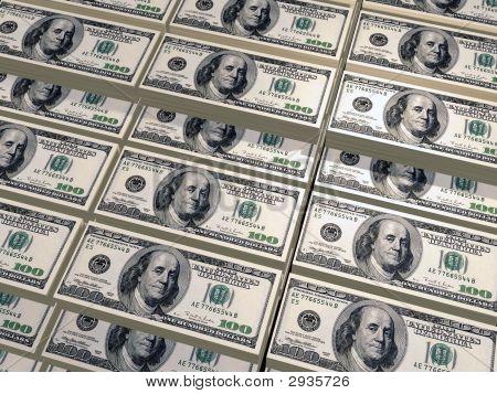 Dollars Pile