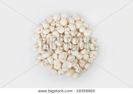 Roasted lotus seed or makhana