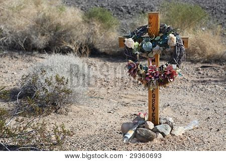 Memorial, Highway 40, Arizona