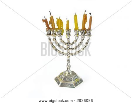 Menorah Jewish Candles
