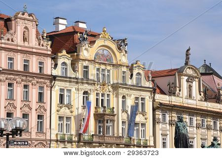 Ancient palace in Prague