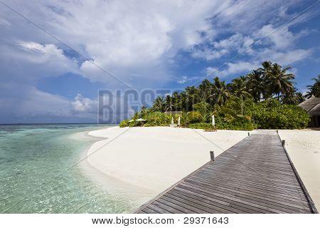 Luxury Hotel In Tropical Island