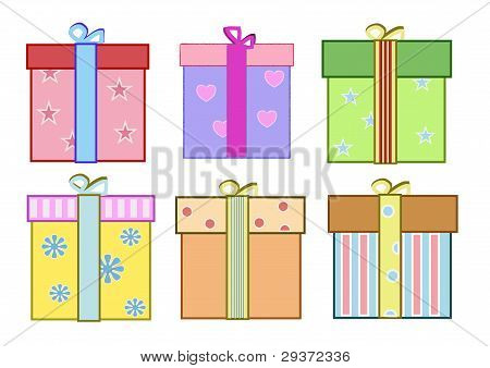 Coloful gifts