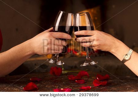 Romantic Toast