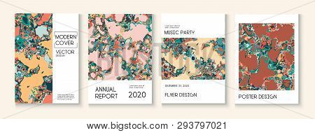 Geographic Map Fluid Paint Vector