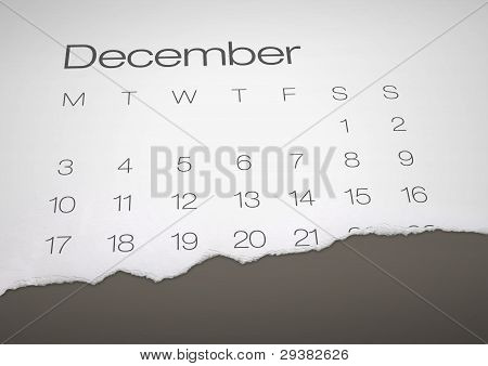 December 21 - end of the world