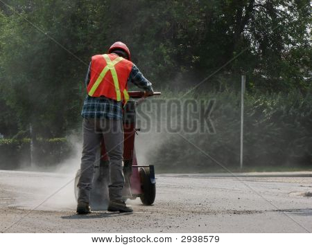 Construction Worker Dusty