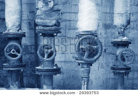 gate valve on a fuel system