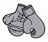 Boxing Gloves 2  Illustration