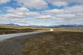 The Ring Road In Iceland. Route 1 Or The Ring Road Is A National Road In Iceland That Runs Around Th poster