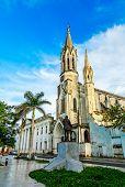 Iglesia Del Sagrado Corazon De Jesus Or Church Of The Sacred Heart Of Jesus, Old Cathedral Of Camagu poster