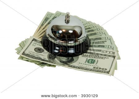 Service Bell And Money