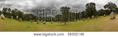 Cromlech Of Almendres Panorama