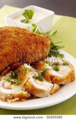 Creamy Stuffed Chicken