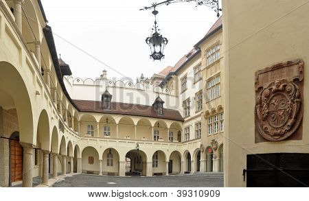 Old Town hall courtyard