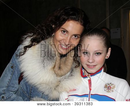 Eteri Tutberidze And Julia Lipnitskaia