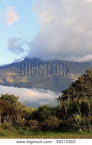 Cloud Covered Mount Imbabura