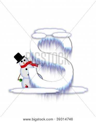 Alphabet Frosty S