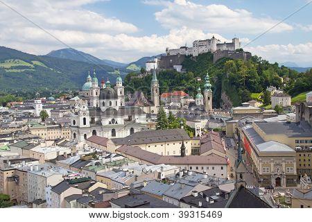 Salzburg With Hohensalzburg Fortress