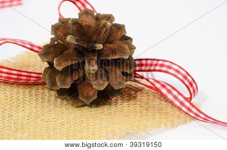 Holiday Pinecone