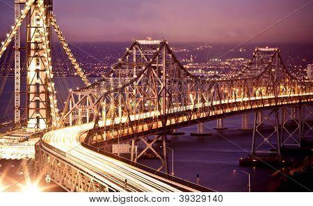 San Francisco Oakland Bay Bridge at