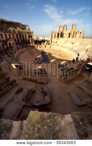 Inside Of Arena  El Jem