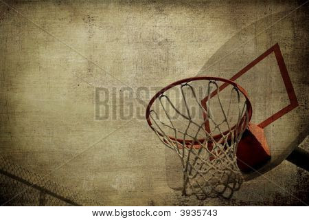 Basketball Basket Background