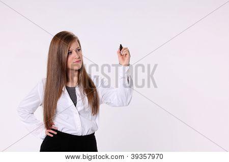Secretary Writing