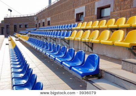 Colorful Plastic Seats