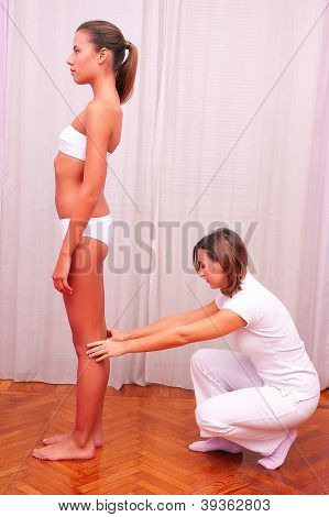 Physiotherapist Postural Evaluation