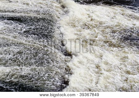 Boiling Water In A River