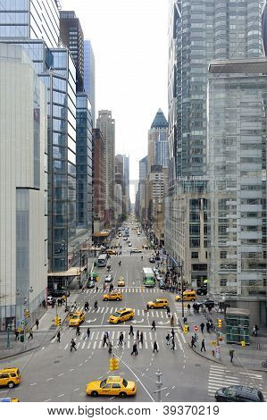 View At 8Th Avenue In New York