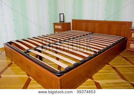 Bed With Wooden Slats For Bed Frame