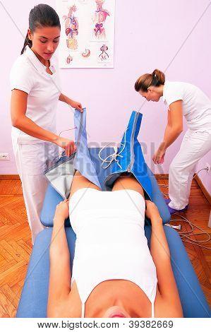 Leg Pressotherapy