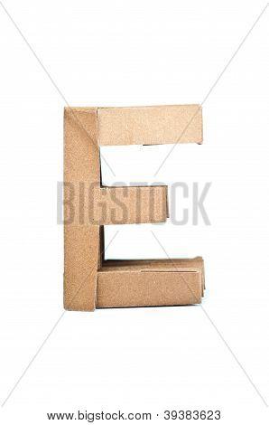 Paper Alphabet.
