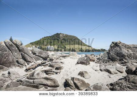Mount Maunganui beach.