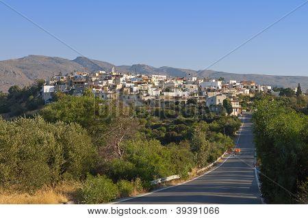 Lithines village at Crete island, Greece