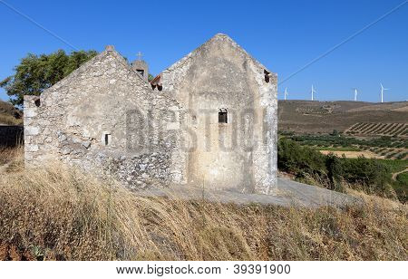 Medieval settlement at Crete island