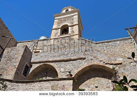 Toplou monastery at Crete island