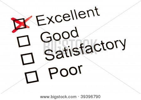 Survey Or Questionnaire