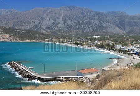 Mirabello bay, Island of Crete, Greece