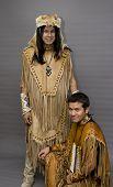 Постер, плакат: Американских индейцев