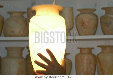 Vaso de alabastro